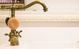 WeWrite Brass Bathroom Tap 4460x4460